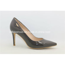 Elegant European Hottest Grey High Heels Lady Shoes