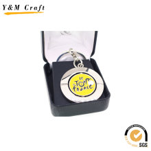 Car Metal Key Ring Keychain with High Quality (Y02431)