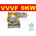 Ascensor de 630kg VVVF pasajero orientada máquina de Motor