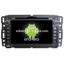 Quad core! Android 4.4 / 5.1 dvd de voiture pour GMC / ENCLAVE avec écran capacitif de 7 pouces / GPS / lien de miroir / DVR / TPMS / OBD2 / WIFI / 4G
