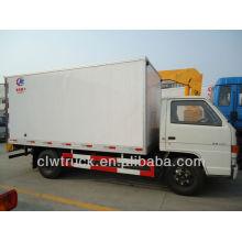 Best Price JMC Mini Refrigerator Truck,used refrigerator truck
