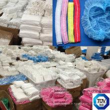 Mob Cap Sans Tissu Clip Surgical Cap Produits en plastique jetables Kxt-Mc03