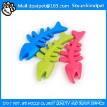 Produtos para animais de estimação de brinquedo de cão de cor de osso de peixe