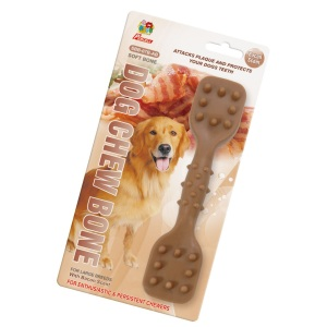 "Percell 7,5 ""Dura Chew Toy Dumbbell Bacon Scent"