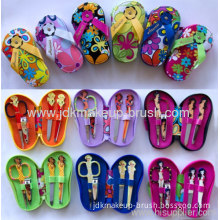 Fashion Promotional Gift Manicure Set Nail Clipper Products In Pu Case