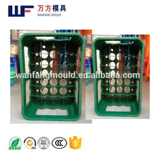 plastic injection beer crate mould maker/Zheijiang taizhou plastic injection beer crate mold maker