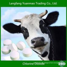 2015 Heißer Verkauf Veterinär-Desinfektionsmittel für Chlordioxid-Tablette