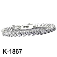 Joyería de moda nuevo diseño 925 pulsera de plata