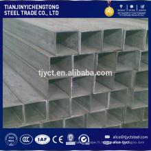 10x10 100x100 acier tube carré fournisseur asiatique noir tube carré de fer