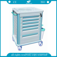 Surgical Supplies Medical Crash Cart (AG-MT005B1)