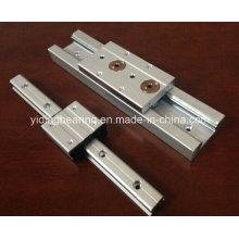 Sgr15 eixo duplo ferroviário linear para máquina de impressão
