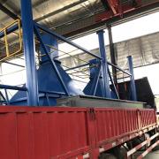 Calcium carbide furnace dust collector