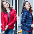 Aşağı Kapşonlu Coat Duck Packable Puffer