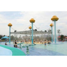 Jellyfish World Steel Large Aqua Play Water Park Equipment,