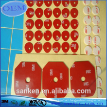 Die Cut Custom Shape Double Sided Self Adhesive PE Foam Tape