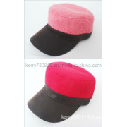Red Wool Winter Cap/Warm Cap/Sports Cap (DH-LH737)