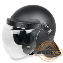 LEISONTAC EN Standard Riot Fast Ballistic Military Helmet Ballistic Bulletproof Helmet With Face Shield