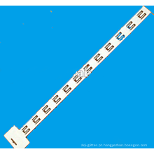 faixa branca com 12 ganchos