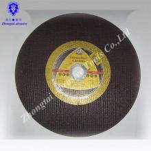 Disco abrasivo Yuri de alto desempenho, Roda de moedura plana, Roda de corte