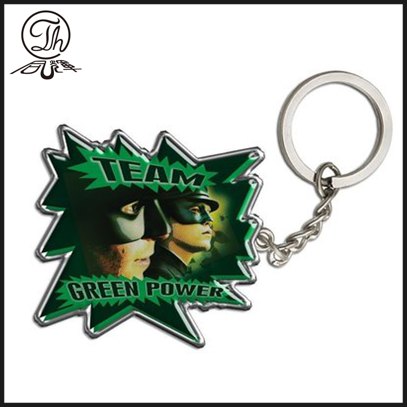 Promotional OEM movie character Keyrings