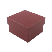 Caja de reloj de papel Kraft con esponja almohada