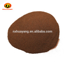 Natural garnet abrasive for waterjet cutting and sandblasting