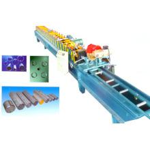 PLC-Kontrollsystem Downspout-Rohr-Rolle, die Maschine bildet
