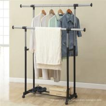 Estante vertical de la suspensión de ropa de Protable DIY del precio al por mayor