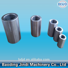 Bahan Binaan Metal Threaded Splicing Rebar Coupler
