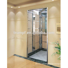Hairline/Etching/Mirro Stainless Steel Home Elevator