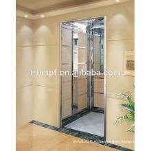Нержавеющая сталь зеркальное травление дом лифт / лифт