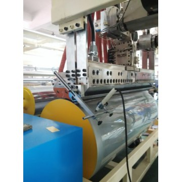 LLDPE Film Stretch inwikkeling Extruder