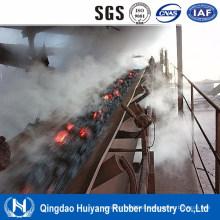 Correia transportadora de borracha resistente a altas temperaturas EPDM