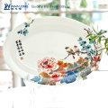 cheap ceramic fish bowl / Chinese Style large bowl / fine porcelain royal fish plate