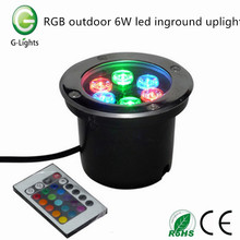 RGB esterno 6W ha portato l'uplight inground