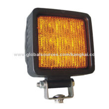 4-inch High Power LED Warning Lamp for Truck and Trailers, with 9pcs 1-3W LEDs, 3-year Warranty