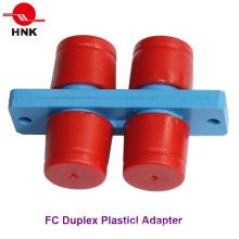 Adaptador de fibra óptica estándar duplex FC Duplex