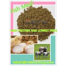 Горячая Продажа&высокое содержание белка корм для рыб животного питания
