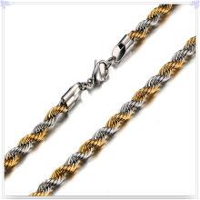 Cadena de acero inoxidable de la joyería de la manera del collar de la manera (SH023)