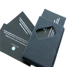 Stylish RFID Carbon fiber Card Holder