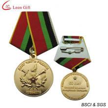 Individuelles Logo 3D militärische Souvenir-Medaille (LM1263)