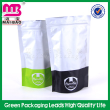 Stand up style laminated surface anti humidity pp laminated plastic bag for packing food