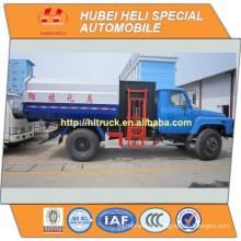 Venta caliente del carro 140HP de la basura del cargador del lado de DONGFENG 4x2 8m3 caliente para la exportación