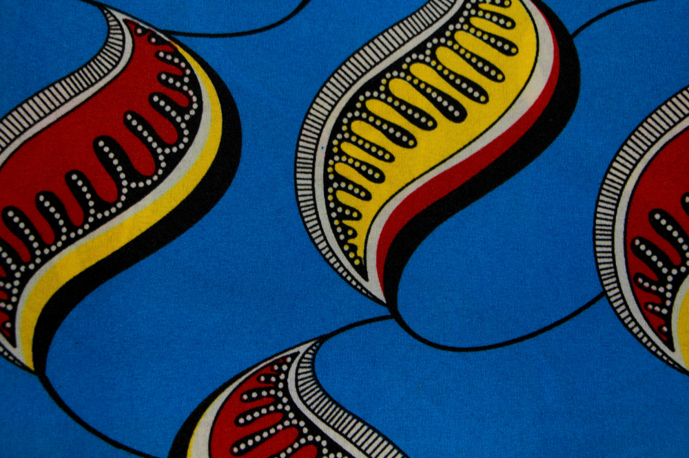 African Wax Prints Fabric 6 Yard