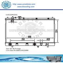 Автозапчастей радиатор для Мазда протеже 95-98 ОЕМ:B6BF15200G/B6BG15200F/B6DA15200A/BPD315200H/BPD415200G/BPD415200H