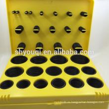 Venta al por mayor de goma de excavadora Sellos o anillo kit de 30 tamaños 396 pc Metric Oil Seal Oring caja de reparación o anillos paquete de herramientas