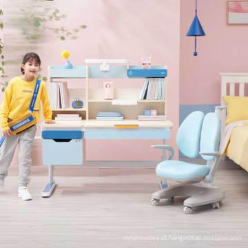 Mesa infantil IGROW, mesa de estudo ergonômica ajustável