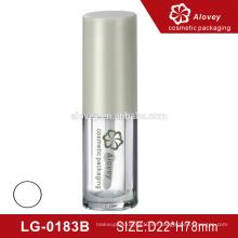 Embalaje plástico ecológico transparente para el tubo cosmético