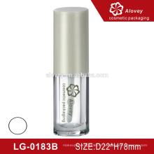 Прозрачная пластиковая экологичная упаковка для косметических тюбиков