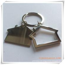 2015 benutzerdefinierte Werbe Geschenk Metall Souvenir Schlüsselanhänger (PG03099)